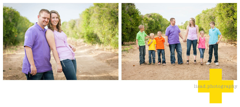Family photography in the orange groves in Mesa| Mesa Family photography | Phoenix Family Photographer | Scottsdale Family Photographer | Lisa d. Photography