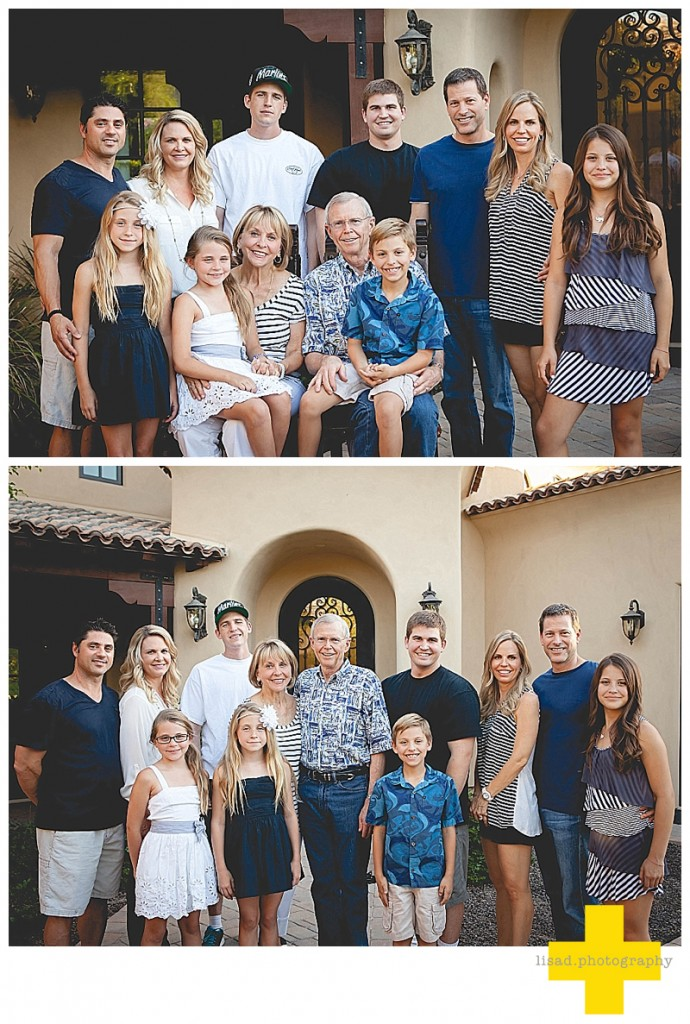 family pictures at home for holiday special