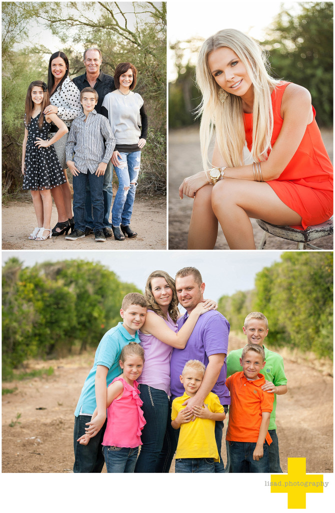 phoenix photographer gives helpful tips on what to wear for your photography session | lisa d. photography | What to Wear for Family Pictures