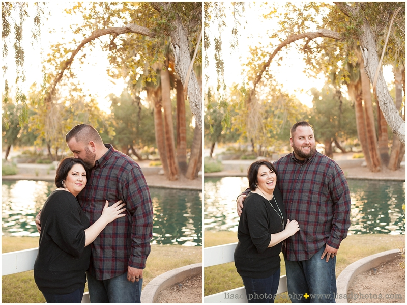 Anniversary Photo Session at Encanto Park
