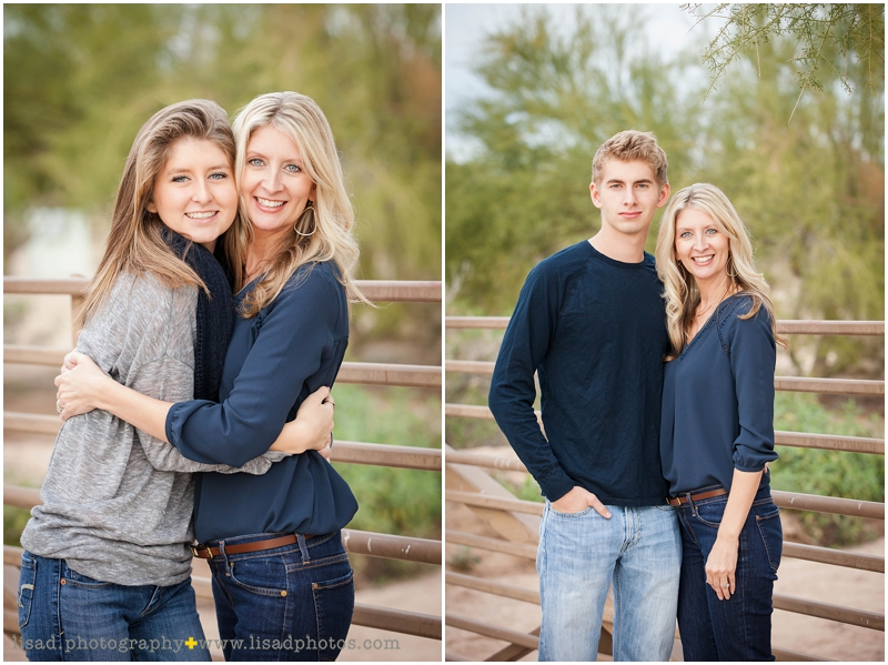 Tatum Ranch family photos | Mom with children |Lisa d. Photography