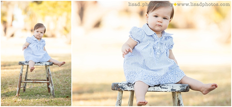 First Birthday at Encanto Park | Phoenix Family Photographer