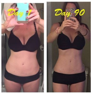 isagenix cleanse before and after