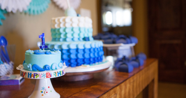 1st Birthday Party | Jonah and the Whale