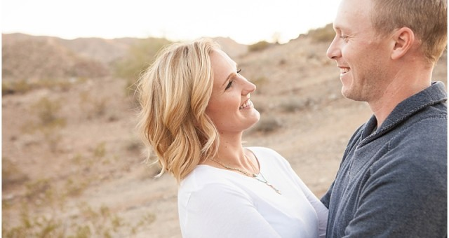 Amber + Kevin's South Phoenix Engagement Session