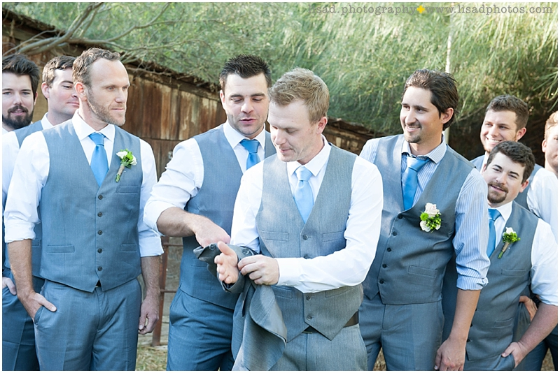 Whispering Tree Ranch Wedding in Laveen, AZ | Lisa d. Photography | Rustic wedding details