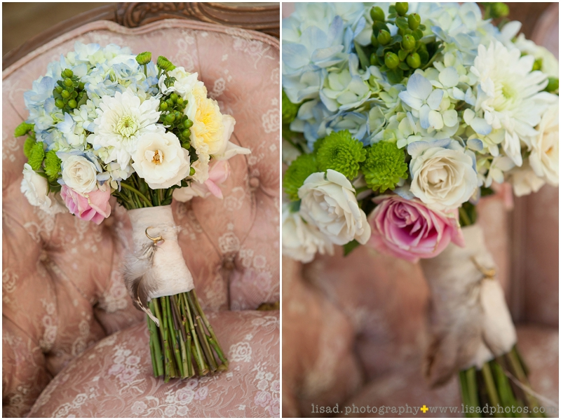 Whispering Tree Ranch Wedding in Laveen, AZ | Lisa d. Photography | Rustic wedding bouquet